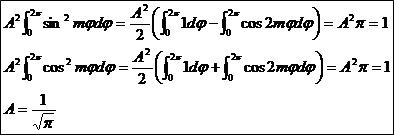 実数の規格化が複素より√2倍された