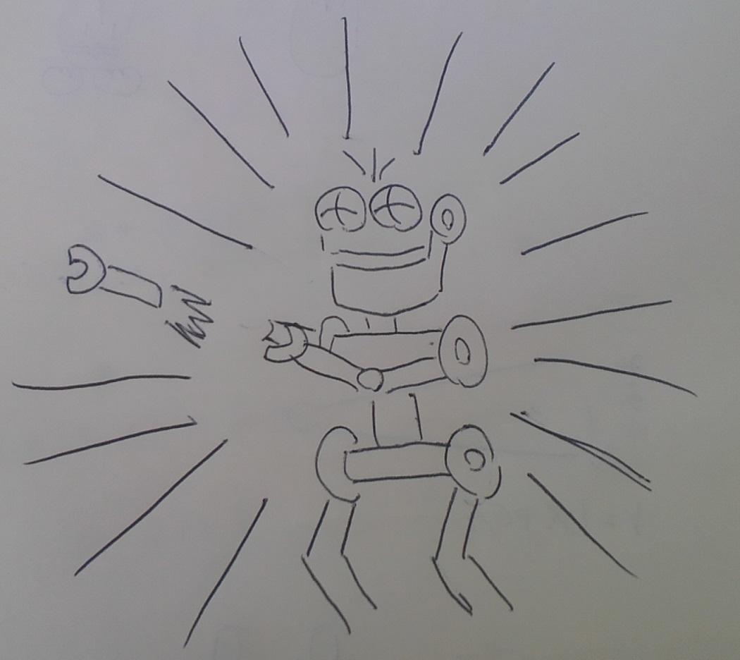 ダイガード式ロケットパンチ(投擲)