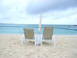 ザ・ブセナテラスの浜辺