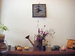 ハロウィンの飾り