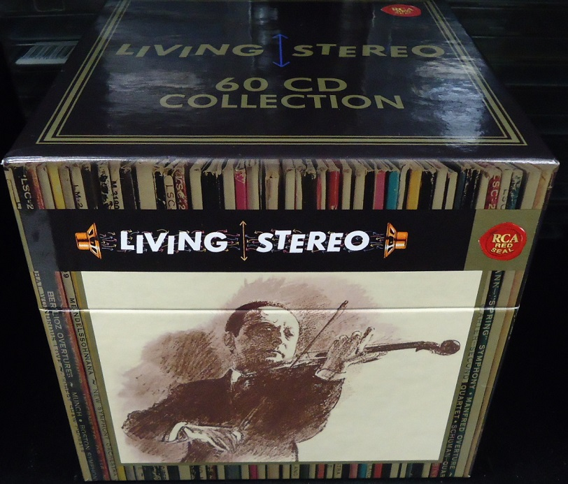 216f2ae3e5ebf ◇VARIOUS ARTISTS (CLASSIC)   LIVING STEREO 60CD COLLECTION