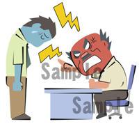 怒られる 怒る ビジネス 男性
