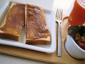 黒蜜きなこトースト