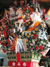 博多祇園山笠の飾り山
