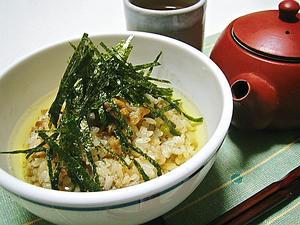 韓国風ごはんのお茶漬け