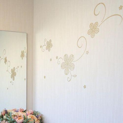 一般家庭用ガラス壁用シール跡が残らないように貼れるかわいいステッカー