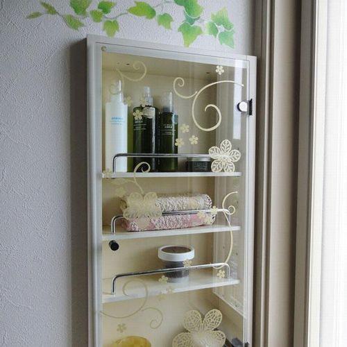 一般家庭用ガラス壁用シール跡が残らないように簡単に貼れるかわいいステッカー
