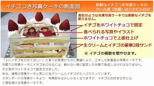 子供が喜ぶ子供の日端午の節句オリジナル写真アナ雪イラストプリントケーキお取り寄せ