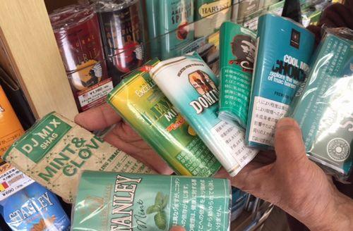 山梨甲府タバコ専門店手巻きタバコのメンソール葉フィルター売っている店