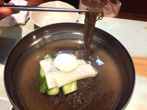 山梨甲府夏の絶品ヒンヤリ冷たいグルメ美味しい本格的冷麺ユッケジャンスープクッパ