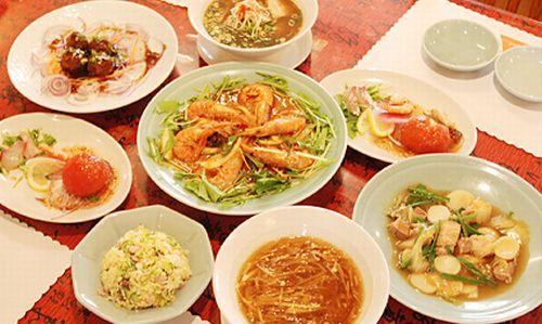 京都市内嵯峨嵐山向日市中華料理絶品グルメフルコース食べられる創作料理おすすめ店