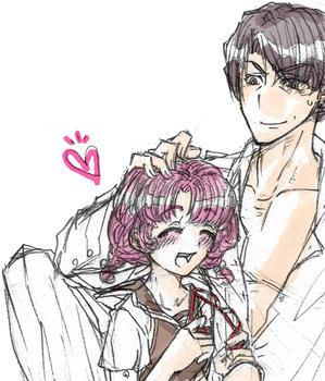 ひよはピンク髪vvv