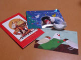 クリスマスカードをくださったみなさん、ありがとうございました♪