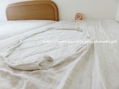 夏の寝具、リネンのボックスシーツを買い替え!