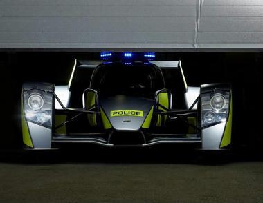 世界最速のパトカー