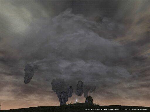 渦巻く暗雲