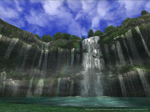 青空と虹と