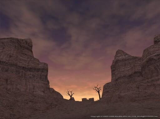 夕日のさして、山の端いと近うなりたるに