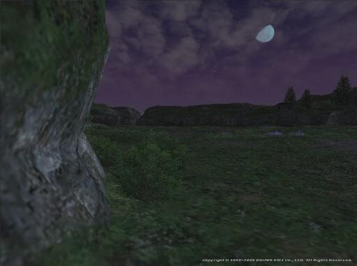 見れば下弦の月