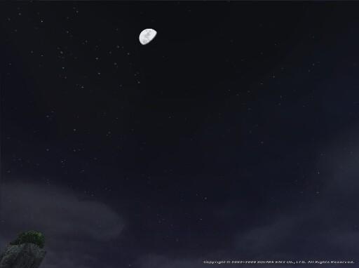 下弦の月を見ゆ