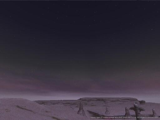 薄明の砂漠
