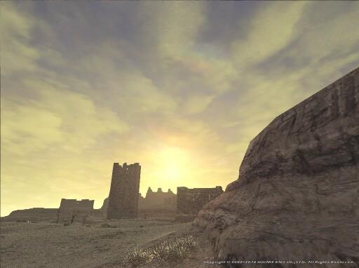 原野の夜明け