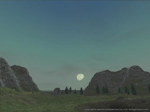 月を眺むるグーヴー
