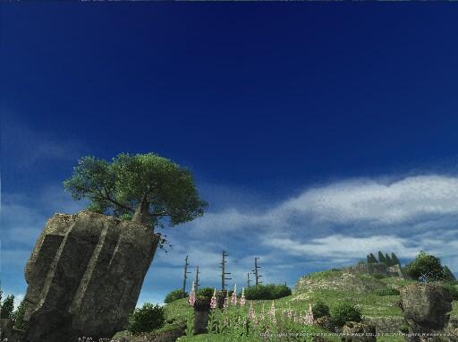 群青の晴天