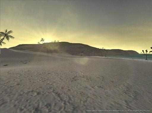 バルクルム砂丘の朝