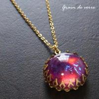 ヴィンテージ/大粒なドラゴンズブレスのネックレス
