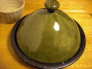 ほっくり蒸し煮鍋(タジン鍋)みどり