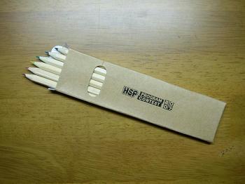 参加賞の色鉛筆