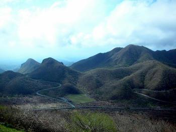 榛名富士、山頂の手前