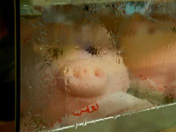 豚まん、かわいい