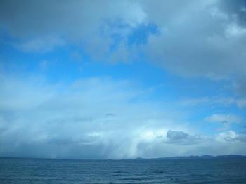 雲が山のよう