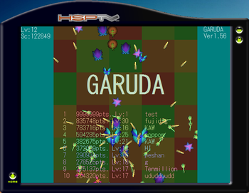 GARUDA ランキング弄られてる