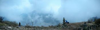 地蔵岳、パノラマ