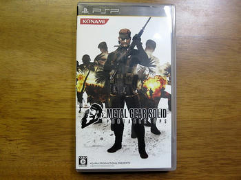 『METAL GEAR SOLID PORTABLE OPS』
