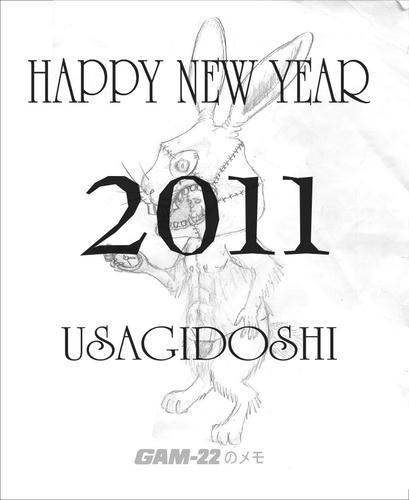 2011 あけましておめでとう!