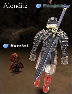 アロンダイトとはアーサー王の伝説にでてくる騎士ランスロットが使っていた剣と同じ名前ですね(*'-')b