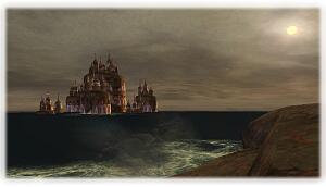 なんだろう?お城かはたまた要塞か・・・?