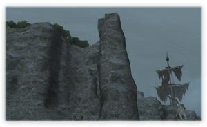 前回より岩の様子がよくみえますね。