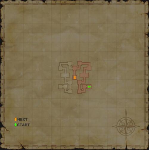 バフラウ遺構4層目書込map