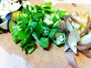 野菜刻んだところ