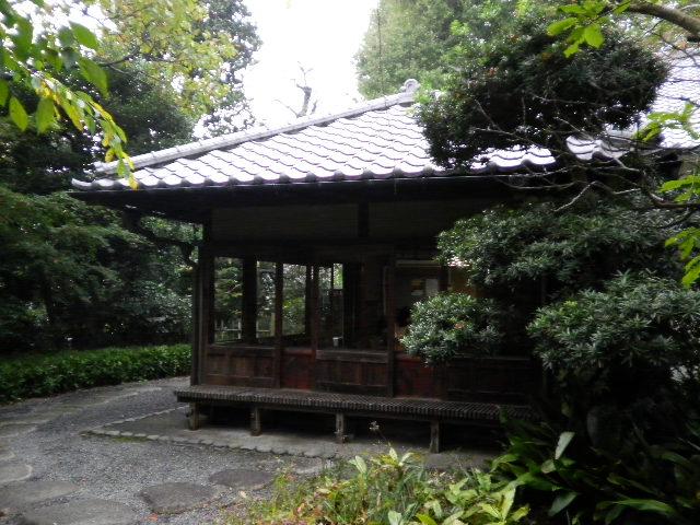 東京都文京区の歴史 関口芭蕉庵