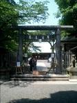写真:夏日の乃木神社