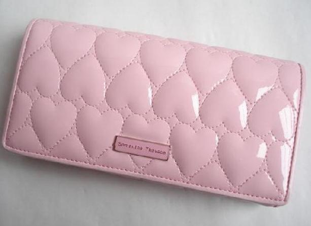 c9f4b1250703 女性ファッションblog サマンサタバサ 長財布 ピンク ハート ~キュート ...