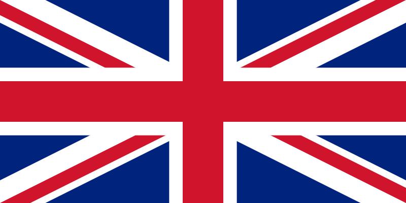 カレンダー 6ヶ月カレンダー : イギリス国旗