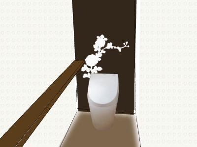 トイレのクロス