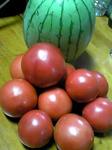 トマトとスイカ